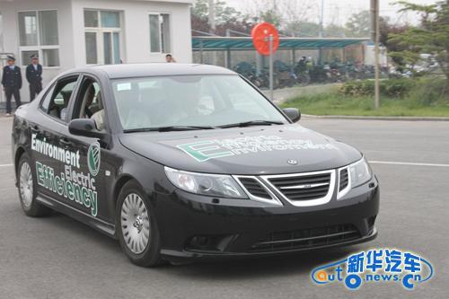 在混合动力汽车领域,北汽[beiqi]新能源[xinnenyuan]汽车公司高清图片