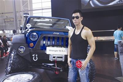 汽车  2011(第十六届)大连国际汽车展览会十佳车模评选活动,高清图片