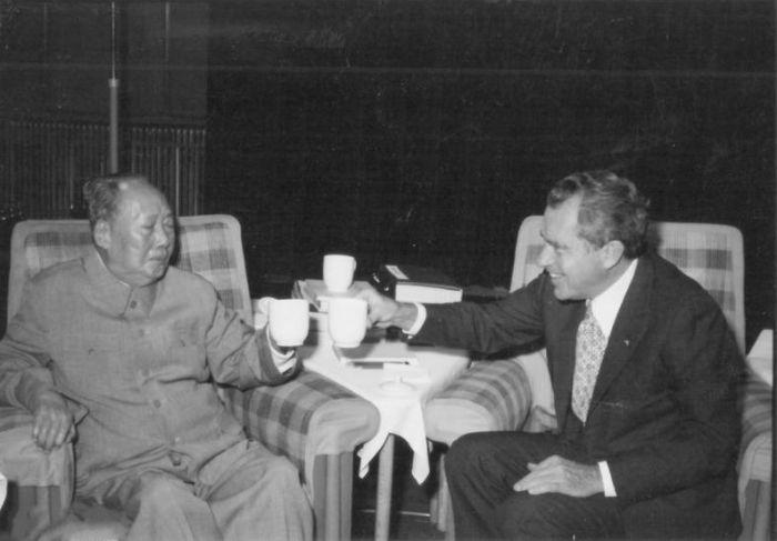 毛泽东最后的外交会见:留下的瞬间令人苦涩和不安--国家史册